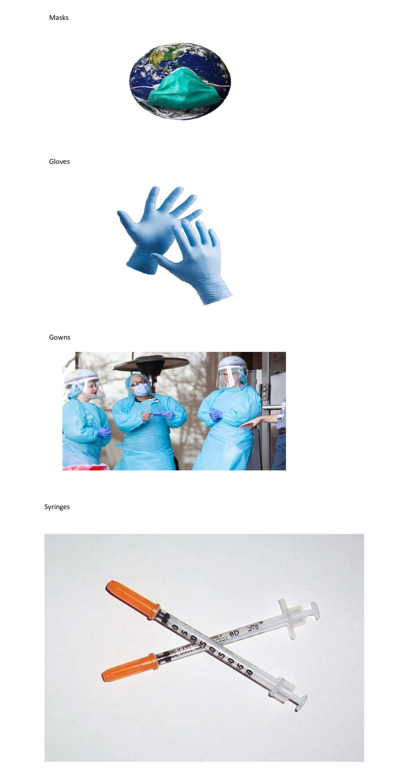 Community Shield PPE